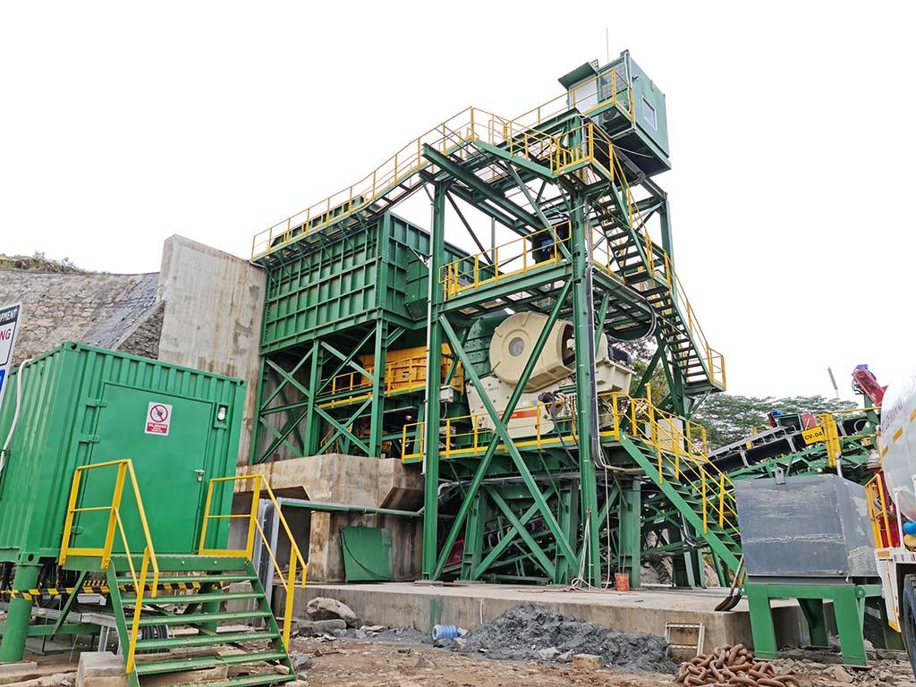 Trimax 550TPH Crushing Plant
